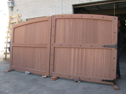 Pin Sliding Wooden Driveway Gates Image Search Results On